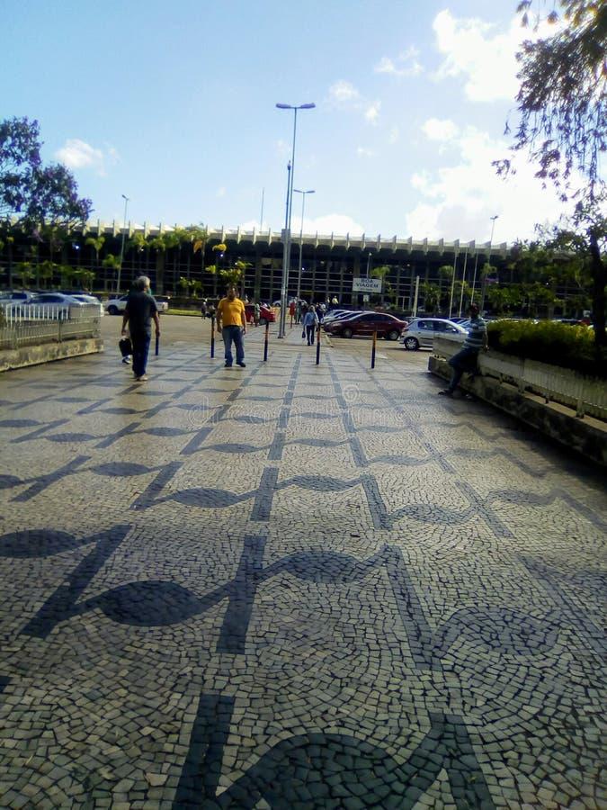 Belo Horizonte przystanek autobusowy fotografia stock