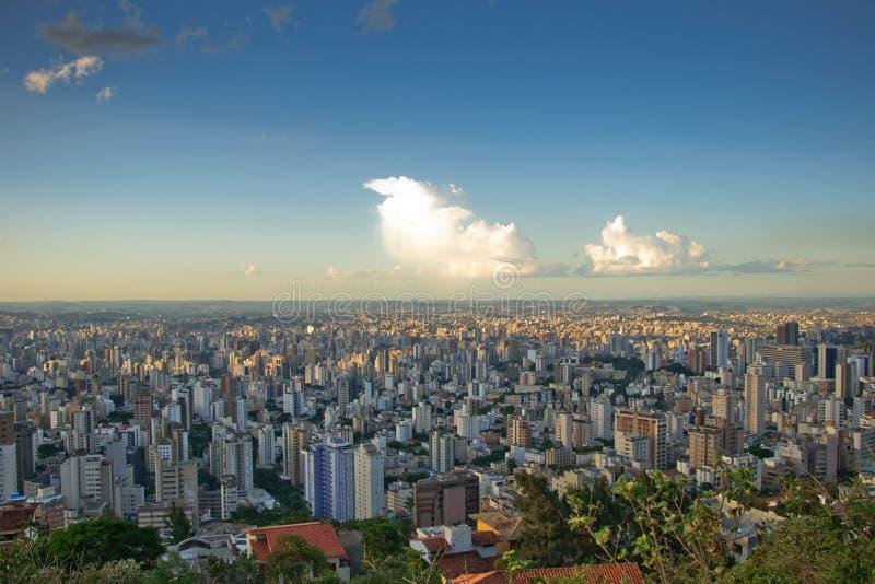 Belo Horizonte view stock photography