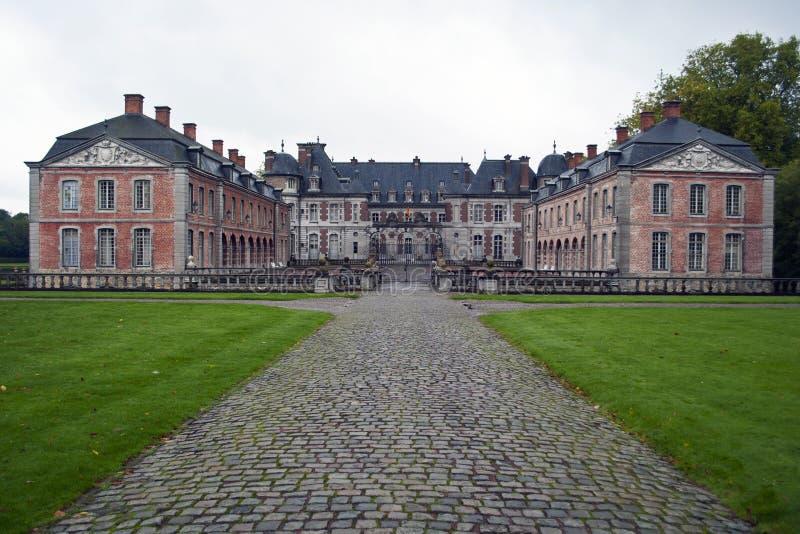 Beloeil castle royalty free stock photography