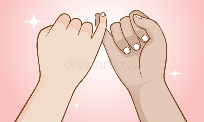 belofte royalty-vrije illustratie