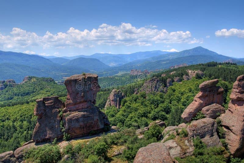 belogradchik保加利亚 免版税库存照片