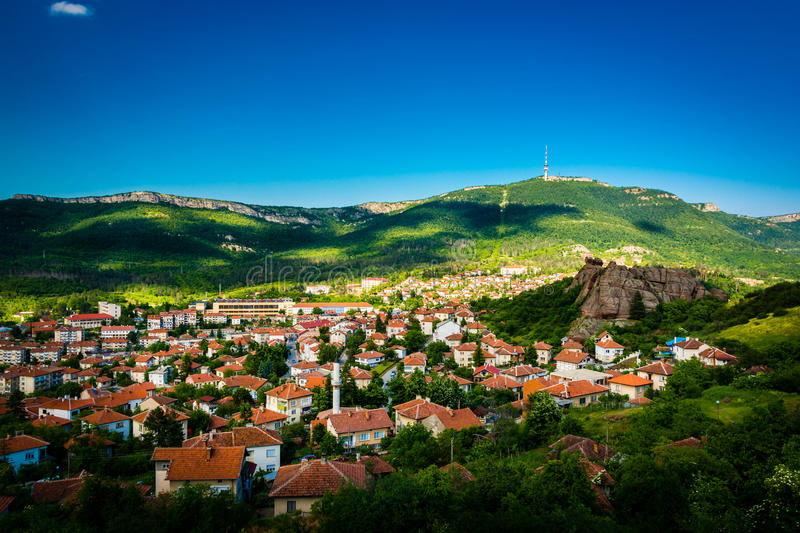 Belogradchik Bulgarie photographie stock