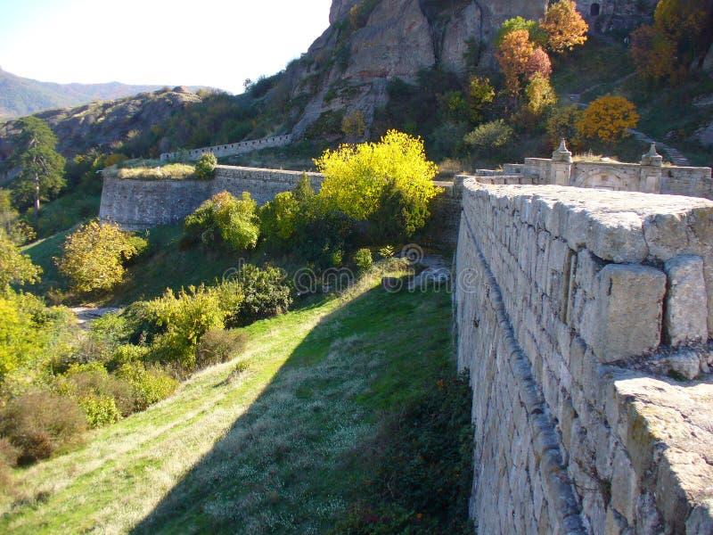 Belogradchik fortress wall stock photos