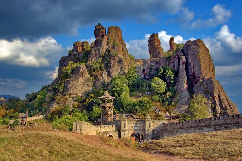 Belogradchik Rocks arkivfoton