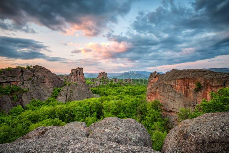 Belogradchik Rocks royaltyfri foto