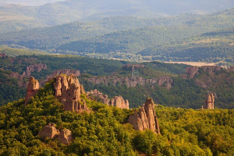 Belogradchik Rocks Landscape royalty free stock images