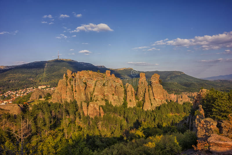 Belogradchik skały zdjęcie royalty free