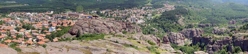 belogradchikbulgaria town royaltyfri fotografi