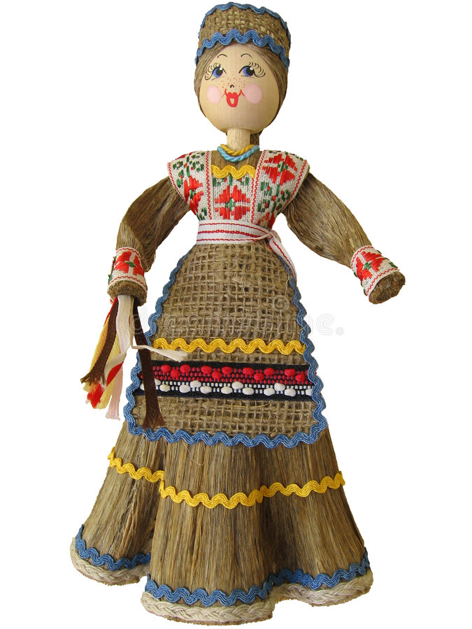 Download Belorussian doll. stock image. Image of cloth, designed - 2192065