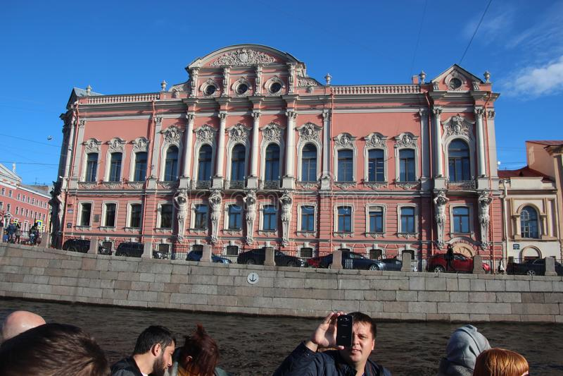 Beloselsky-Belozersky Palast Heilige Petersburg Russland stockfotos