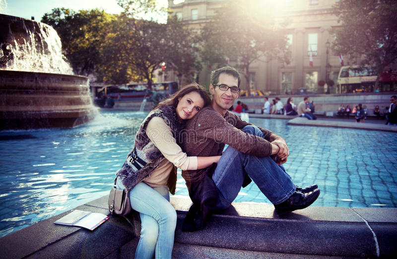 Beloved Couple Royalty Free Stock Images