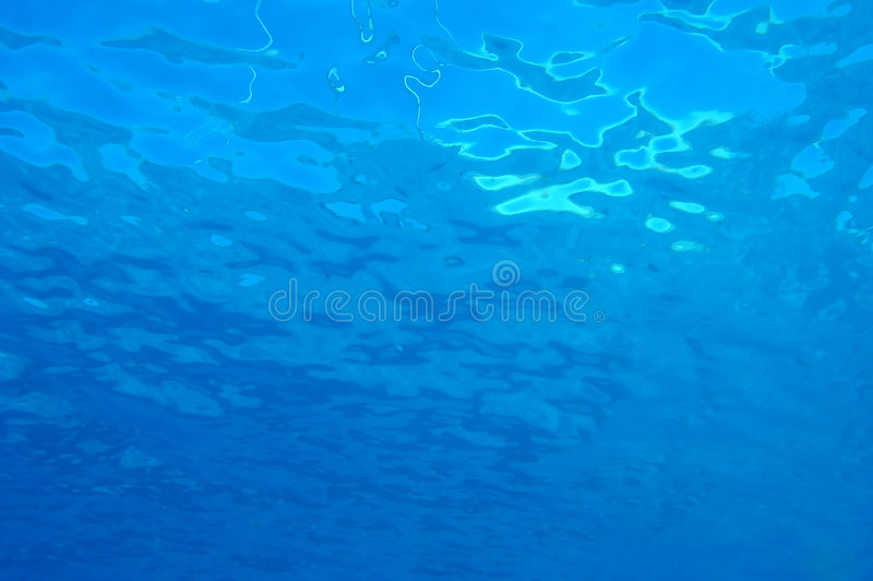 Below sea level texture. Below sea level deep blue texture royalty free stock images