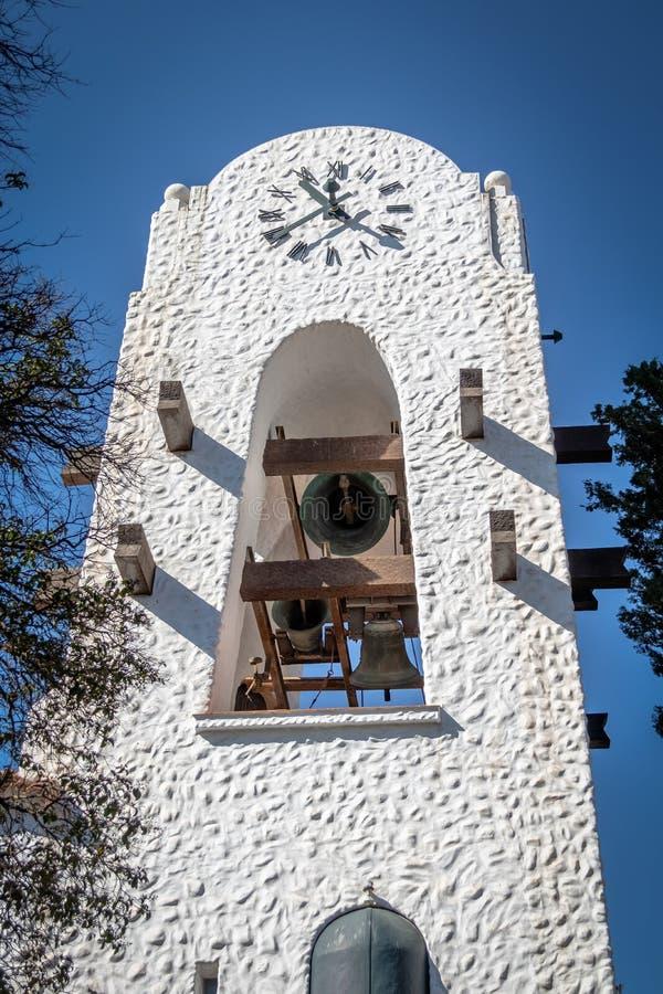 Bels de soada na cidade Hall Bell Tower - Humahuaca de Humahuaca Cabildo, Jujuy, Argentina imagem de stock royalty free