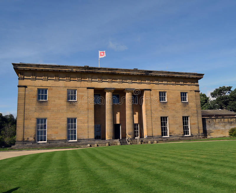 Belsay Salão, Northumberland fotos de stock royalty free