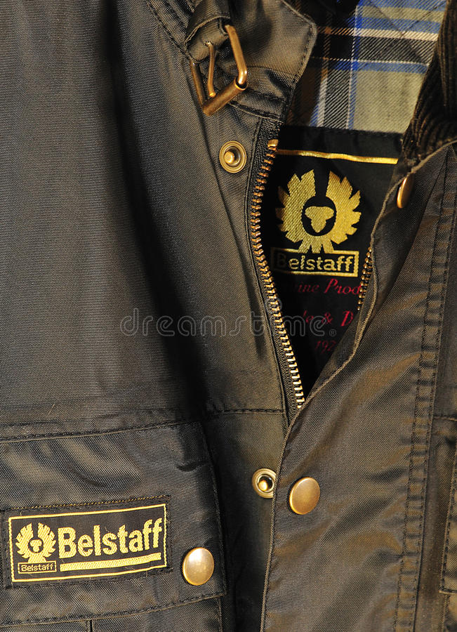 Belstaff brand royalty free stock photo