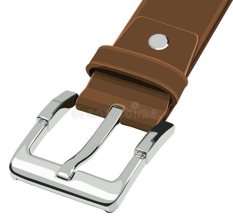 Belt Buckle stock illustration