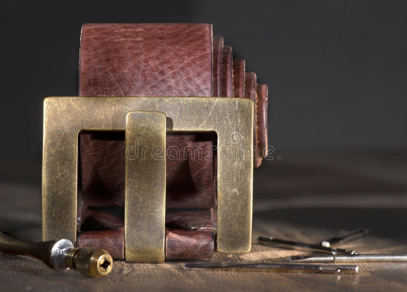 Belt For Jeans Royalty Free Stock Image