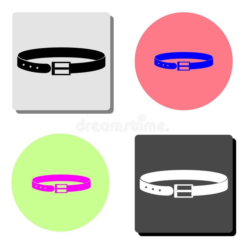 belton Плоский значок вектора иллюстрация штока