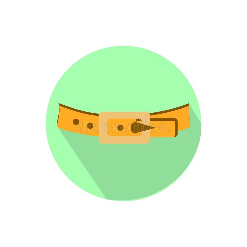 belton на белой предпосылке в ярком круге иллюстрация вектора
