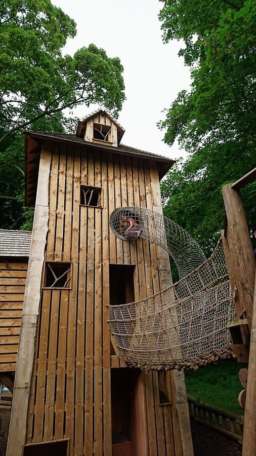 Belton-Haus-Abenteuerspielplatz lizenzfreie stockfotos
