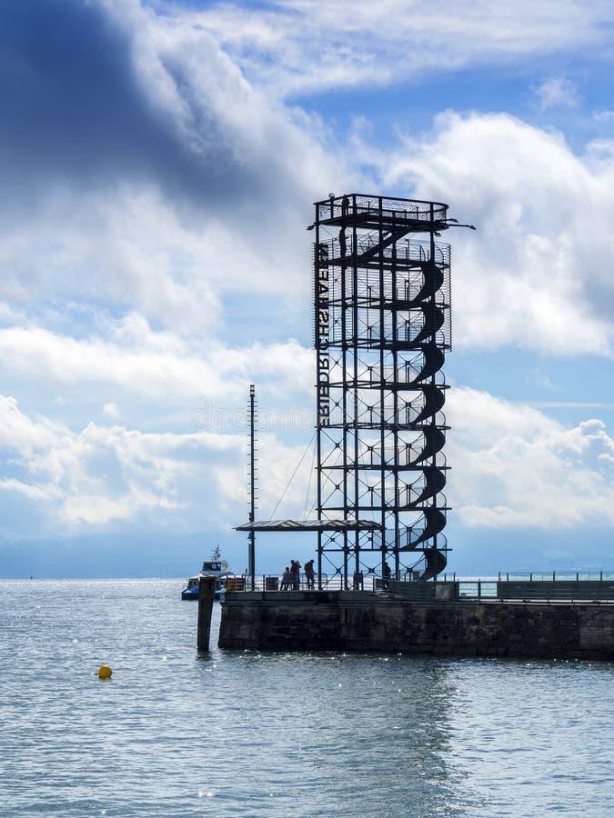 Belvédère au lac Bodensee photos stock