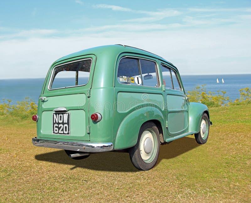 Belvédère 1954 de Fiat de vintage photographie stock libre de droits