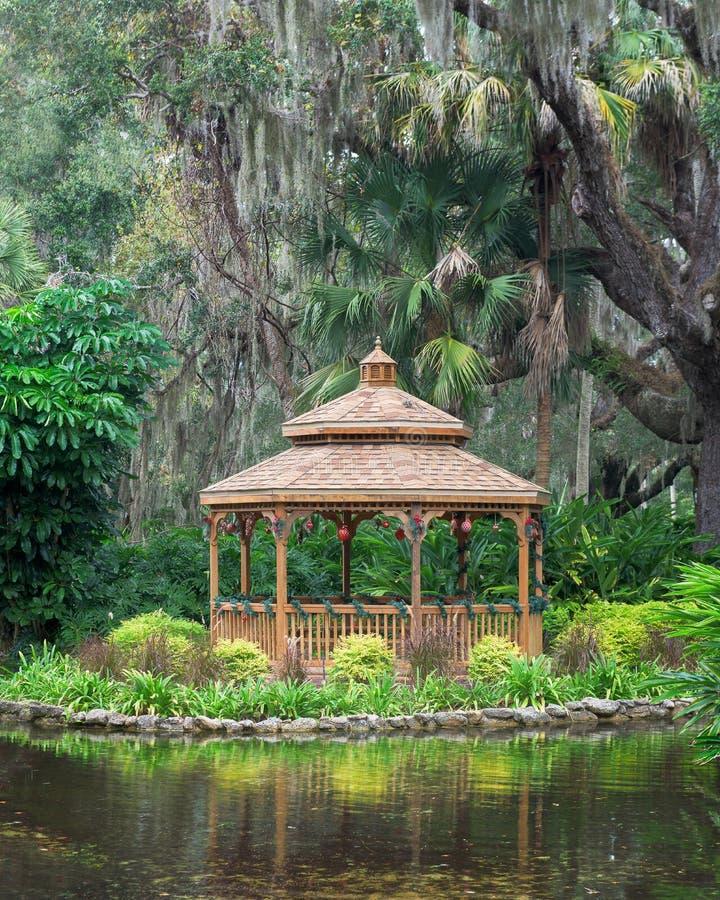 Belvédère de Washington Oaks Gardens photographie stock libre de droits