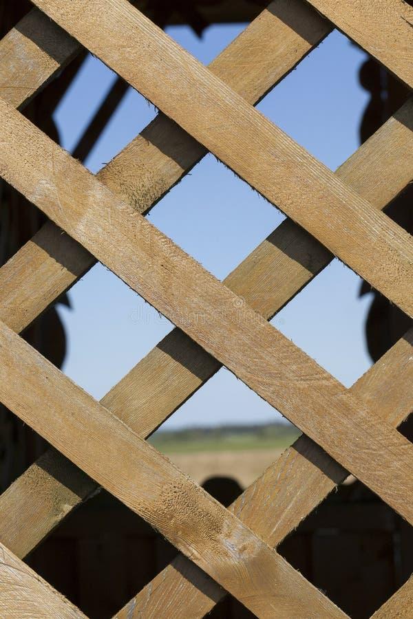 Belvédère en bois image stock