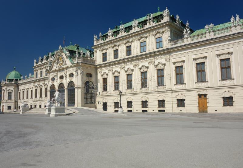 Belveder palace royalty free stock image