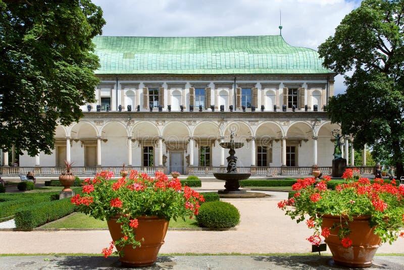Belveder, Prag (UNESCO), Tschechische Republik lizenzfreie stockbilder