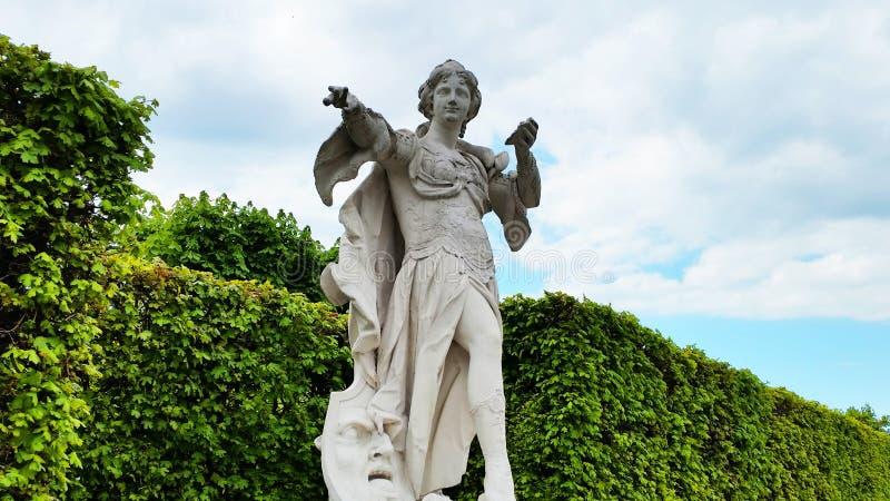 Belveder rzeźba zdjęcie stock