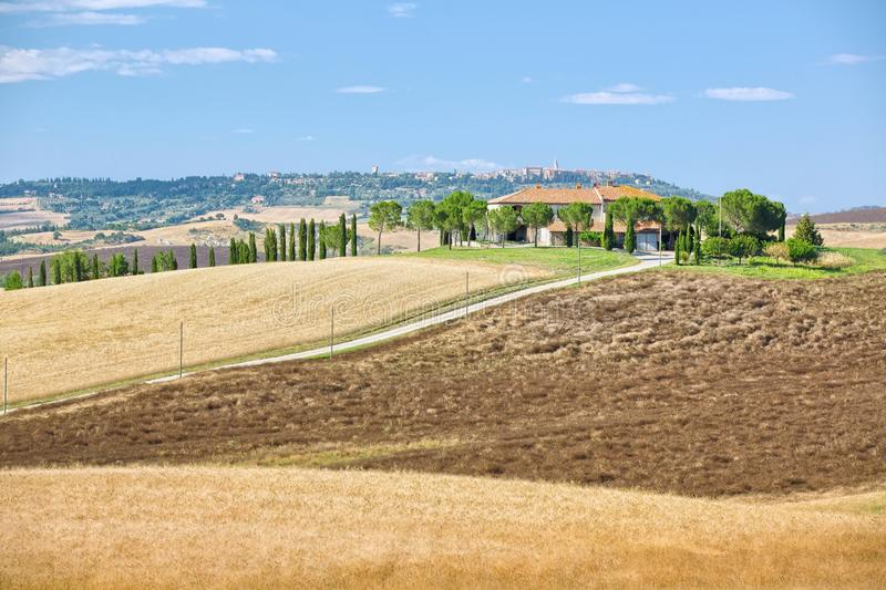 belvedere Тоскана стоковое фото