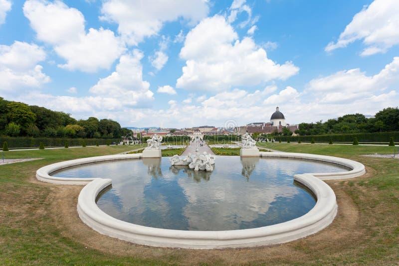 Belvedere royalty-vrije stock foto's