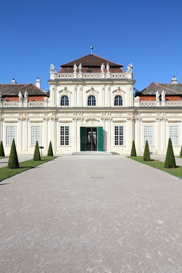 Belvedere royalty-vrije stock foto