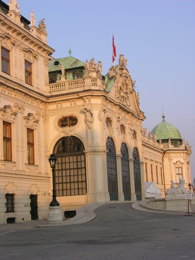 belvedere royaltyfri foto