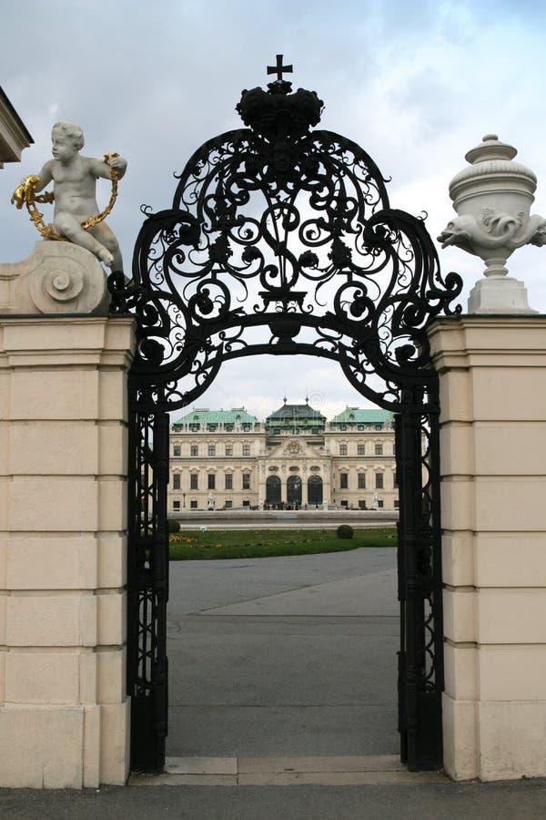 belvedere bramy miejsca zamieszkania zdjęcia royalty free