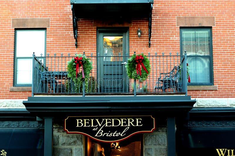 Belvedere a Bristol immagine stock
