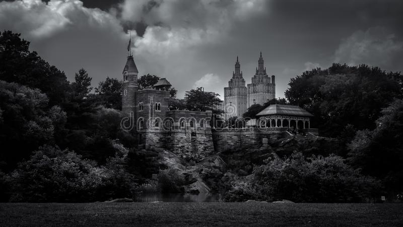 Belvedere Castle royalty free stock photo