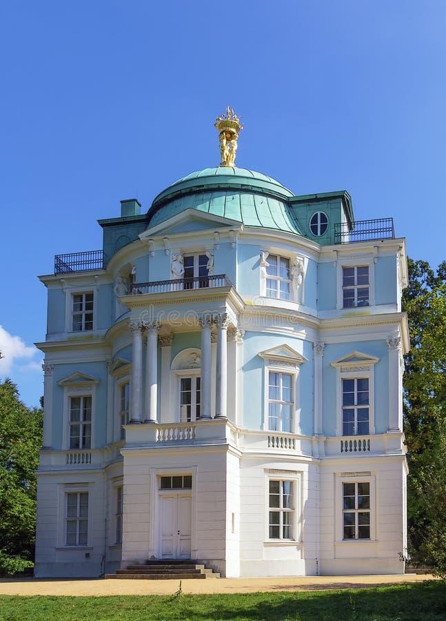 Belvedere da casa de chá, Berlim fotografia de stock royalty free
