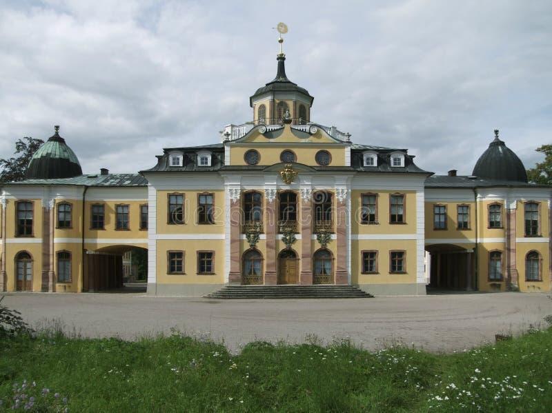 Belvedere di Schloss immagine stock libera da diritti