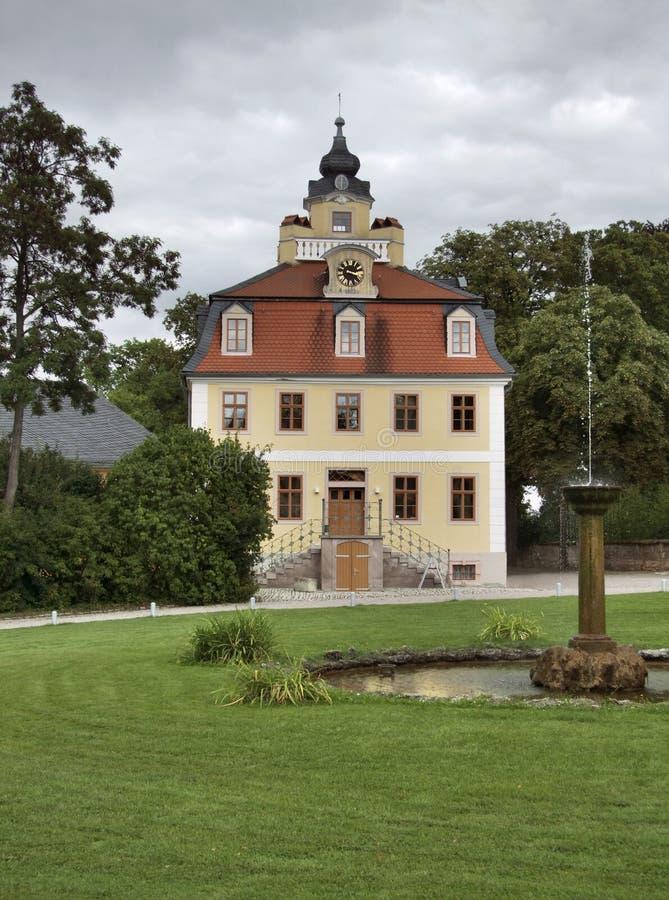 Belvedere di Schloss fotografia stock