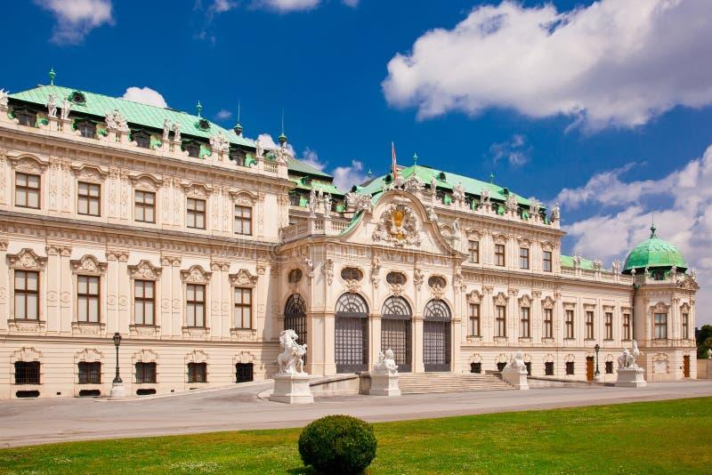Belvedere een paleis complex in Wenen royalty-vrije stock foto's