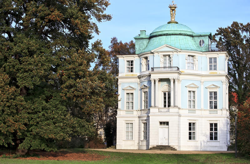 Belvedere in the Garden of Charlottenburg Palace in Berlin. Germany stock images