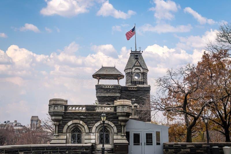 Belvedere Kasteel bij Central Park - New York, de V.S. stock afbeelding