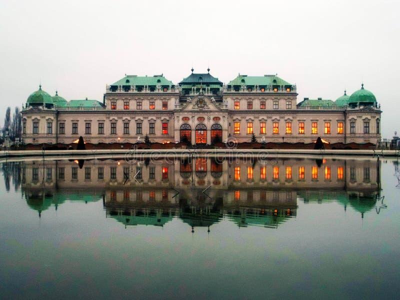 Belvedere Palace lizenzfreie stockfotos