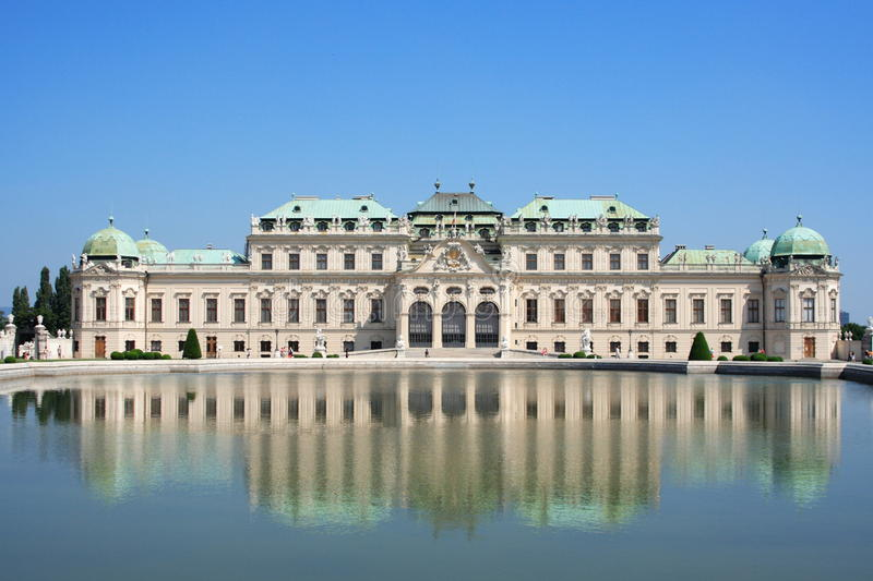 Download Belvedere palace stock photo. Image of beautiful, austria - 21714630