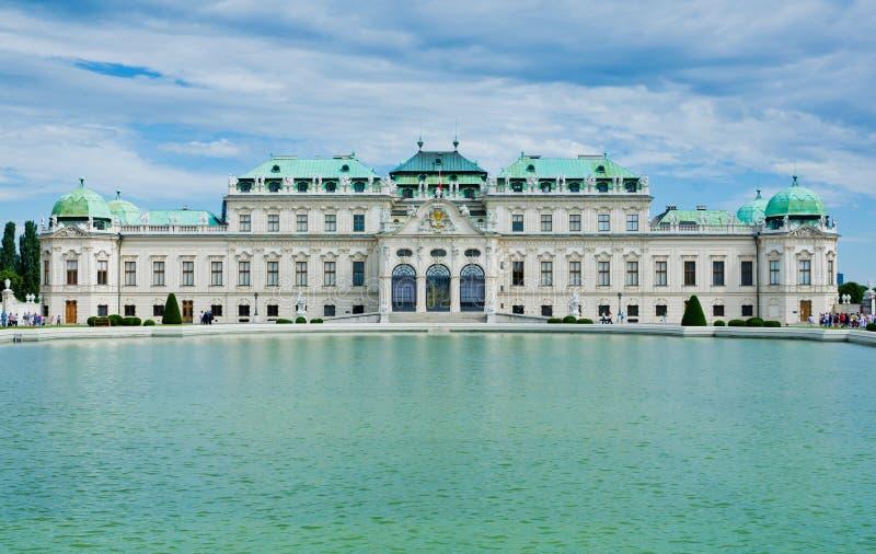 Belvedere Palace Stock Photos