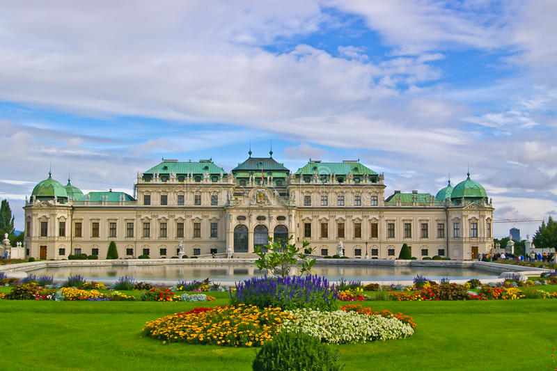 Download Belvedere palace stock image. Image of beautiful, colorful - 22070581