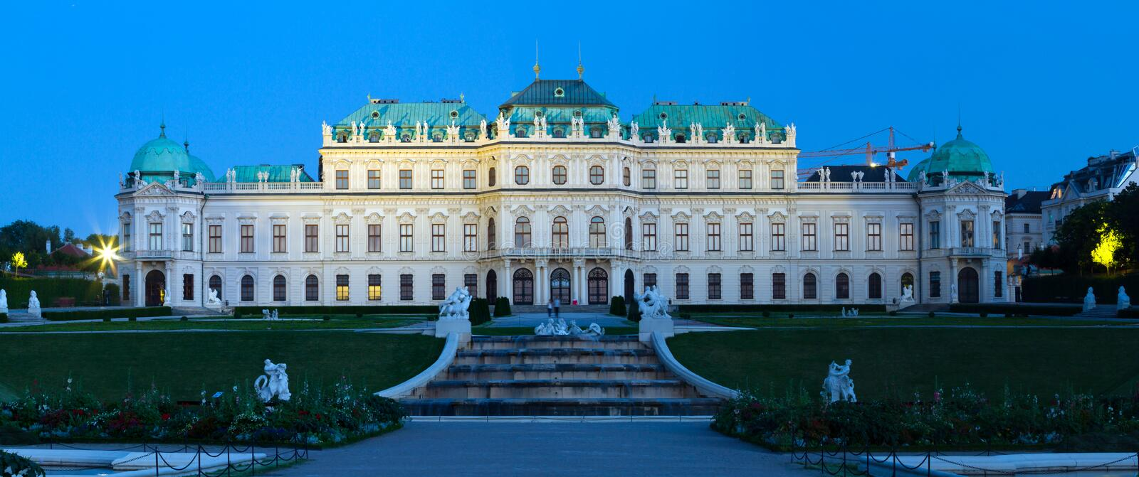 Belvedere Palace royalty free stock images