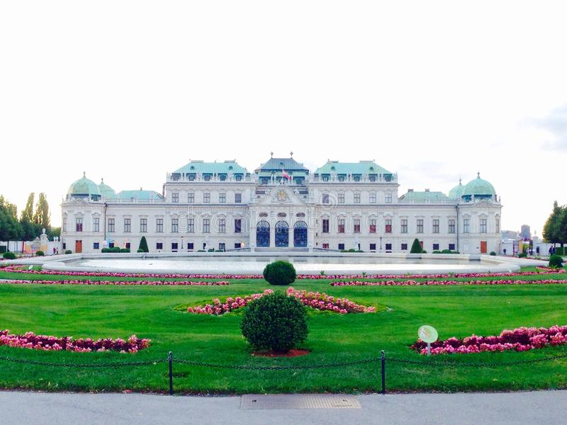 Belvedere Palace royalty-vrije stock fotografie